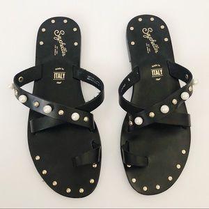 Seychelles Much Needed Break Pearl Stud Sandals